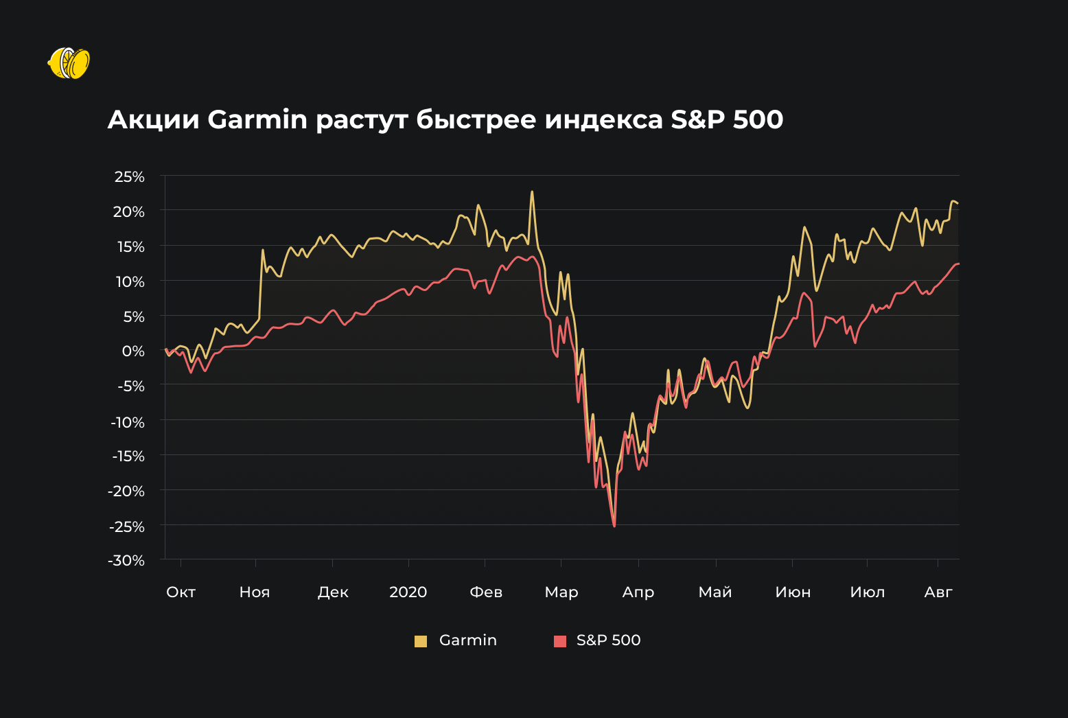 Почему акции Garmin могут вырасти в долгосроке?